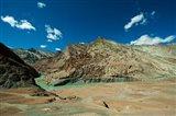 Landscape, Markha Valley, Ladakh, India Art Print