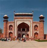 The Royal Gate, Taj Mahal, Agra, India Art Print