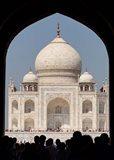The Royal Gate detail s, Taj Mahal, Agra, India Art Print