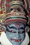 Kathakali Dancer Portrays Scenes from Hindu Epics, India Art Print