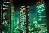 Nightscape, Tokyo, Japan Art Print
