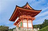 Kiyomizudera Temple Gate, Japan Art Print