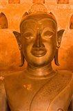 Buddha Images at Wat Si Saket, Vientiane, Laos Art Print