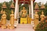 Buddha Image at Wat Si Saket, Laos Art Print