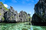 Crystal Clear Water In The Bacuit Archipelago, Philippines Art Print