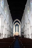 Singapore. The interior view of St. Andrew's Cathedral Art Print