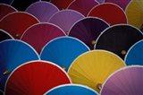 Colorful Umbrellas at Umbrella Factory, Chiang Mai, Thailand Art Print