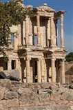 Turkey, Izmir, Kusadasi, Ephesus The Library Of Ephesus Art Print