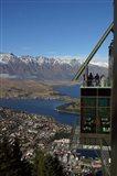 Gondola, Queenstown, South Island, New Zealand Art Print