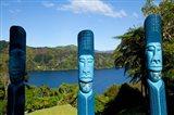 Lochmara Lodge, Marlborough Sounds, New Zealand Art Print