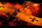 War Plane, Blenheim, Marlborough, New Zealand Art Print