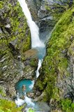 New Zealand, Arthurs Pass NP, Waimakariri falls Art Print
