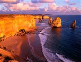 Morning at 12 Apostles, Great Ocean Road, Port Campbell National Park, Victoria, Australia Art Print