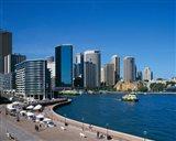 Circular Quay, Sydney, Australia Art Print