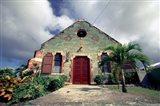 Old Anglican Church, Liberta, Antigua, Caribbean Art Print