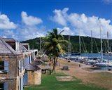 Copper and Lumber Store, Antigua, Caribbean Art Print