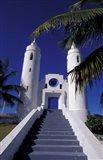 St Peter Catholic Church, Long Island, Bahamas, Caribbean Art Print