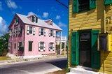 Colorful Loyalist Home, Governor's Harbour, Eleuthera Island, Bahamas Art Print
