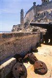 Thick Stone Walls, El Morro Fortress, La Havana, Cuba Art Print