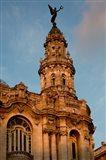 Cuba, Havana, Historic Building Art Print