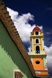 Cuba, Trinidad Iglesia Y Convento De San Francisco Belltower Art Print