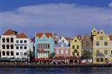 Dutch Gable Architecture of Willemstad, Curacao, Caribbean Art Print
