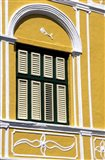 Window, Willemstad, Curacao, Caribbean Art Print