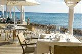 Viva Cafe Restaurant, Viva Wyndham Dominicus Beach, Bayahibe, Dominican Republic Art Print