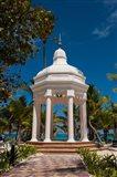 Wedding gazebo, Riu Palace, Bavaro Beach, Higuey, Punta Cana, Dominican Republic Art Print