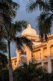 Rooftop terrace hotel, Riu Palace, Bavaro, Higuey, Punta Cana, Dominican Republic Art Print