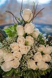 Wedding floral centerpiece, Bavaro, Higuey, Punta Cana, Dominican Republic Art Print