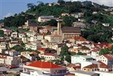 View of Downtown St George, Grenada, Caribbean Art Print