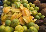 Star Fruit and Citrus Fruits, Grenada, Caribbean Art Print