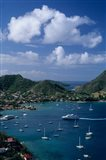 French West Indies, Isle des Saintes, Bourg harbor Art Print
