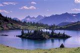 Sunshine Region, Island lake, Banff National Park, Alberta, Canada Art Print