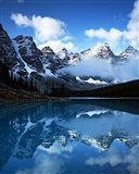 Valley of Ten Peaks, Lake Moraine, Banff National Park, Alberta, Canada Art Print
