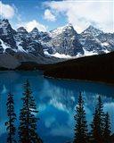 Lake Moraine, Banff National Park, Alberta, Canada Art Print