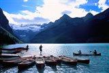 Emerald Lake, Alberta, Canada Art Print