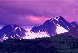 Alberta, Canadian Rockies, Tonquin Valley landscapes Art Print