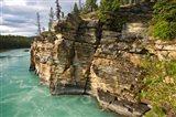 Canada, Alberta, Jasper National Park, Athabasca River Art Print