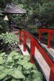 Japanese Garden at Butchart Gardens, Vancouver Island, British Columbia, Canada Art Print