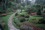 The Butchart Gardens, Vancouver Island, British Columbia, Canada Art Print