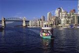Aquabus, Vancouver, British Columbia, Canada Art Print