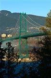 British Columbia, Vancouver, Lion's Gate Bridge Art Print