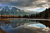 Storm, Agassiz, British Columbia, Canada Art Print