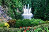 Butchart Gardens, Saanich, Vancouver Island, British Columbia Art Print