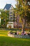 British Columbia, Victoria, Empress Hotel Gardens Art Print