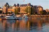 British Columbia, Victoria, Empress Hotel, Harbor Art Print