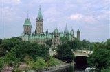 Parliament Building in Ottawa Art Print