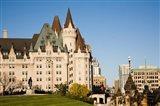 Chateau Laurier Hotel in Ottawa Art Print